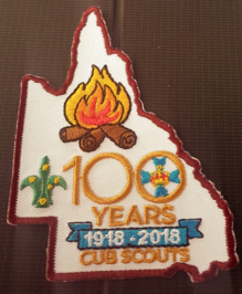 100 year badge
